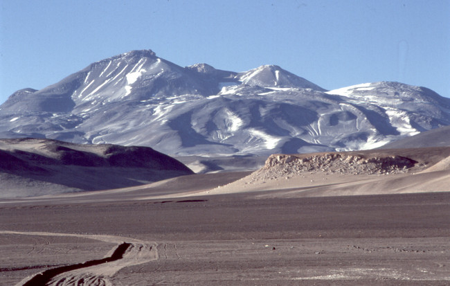 Ojos del Salado - a constant on all lists of the Volcanic Seven Summits
