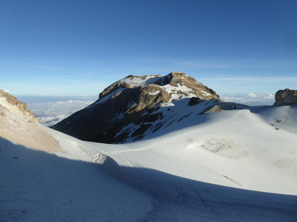 Ascent of Izta