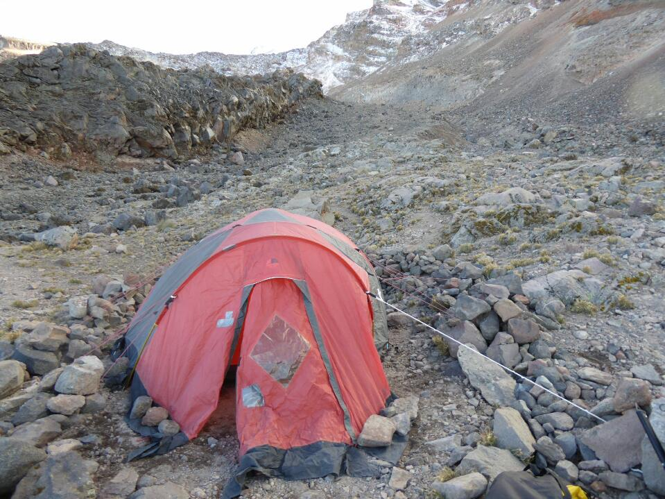 Pico de Orizaba – the approach