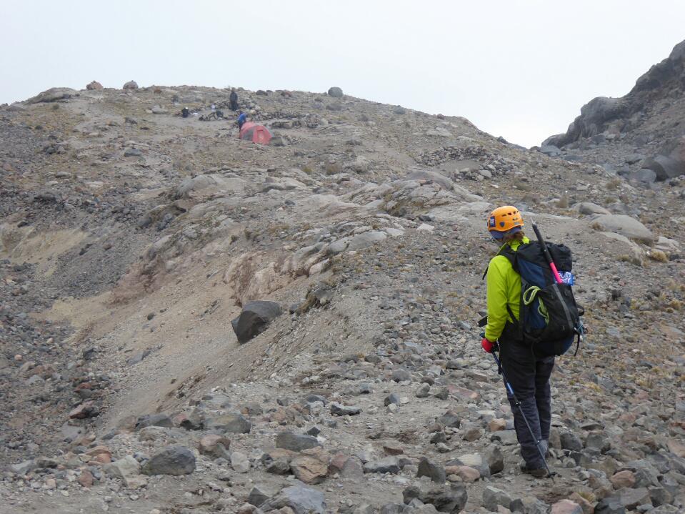 Pico de Orizaba – the climb