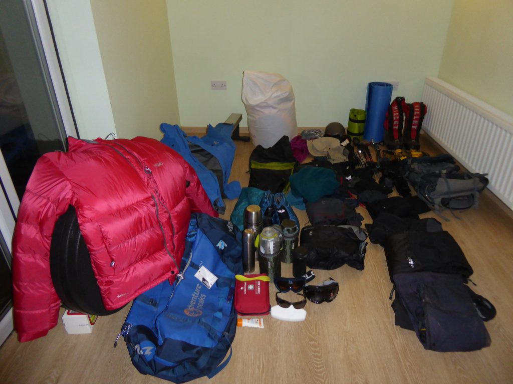 Mount Sidley kit