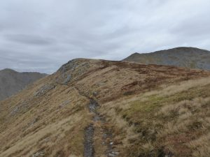 Stalker's path on Gleouraich