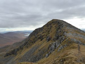 To Gleouraich's summit