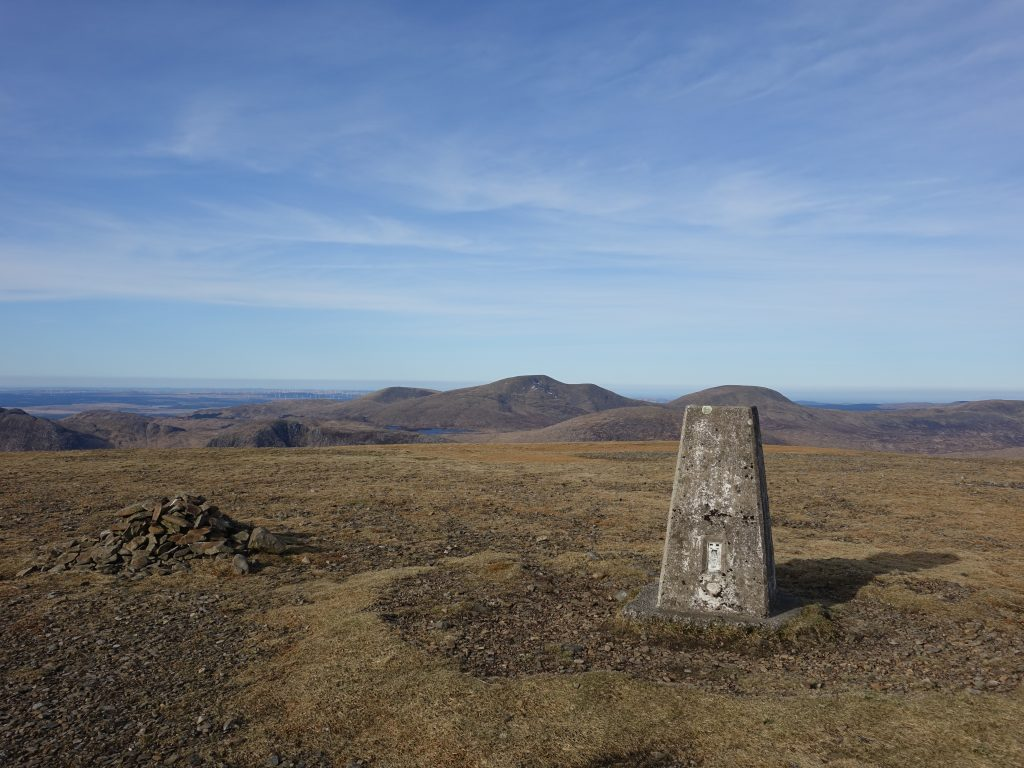 Southern Corbetts – Corserine and The Rhinns of Kell