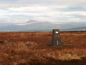 Ingleborough from Ward's Stone Forest of Bowland