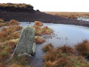 Boundary Marker on Ward's Stone Forest of Bowland