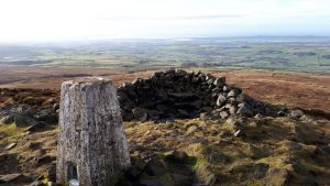 View from Clougha Pike Forest of Bowland