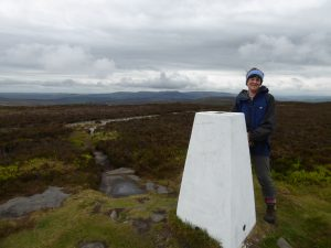Long Crag summit