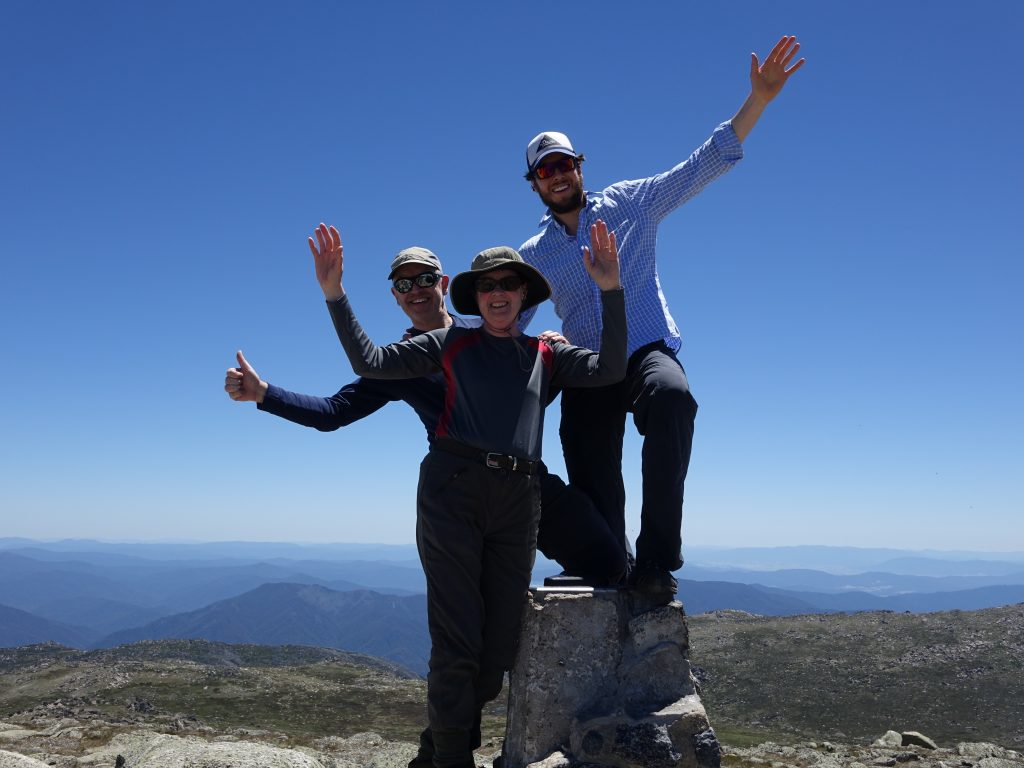 Kosciuszko - one of Australia's five highest summits