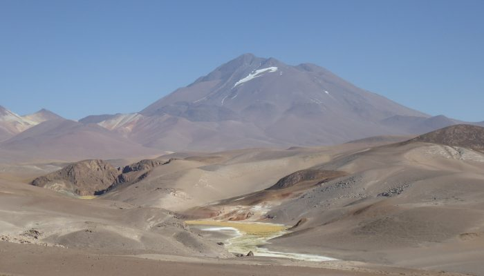 The World Cup and a volcano