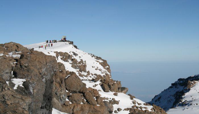 Kilimanjaro summit - one of the Volcanic Seven Summits