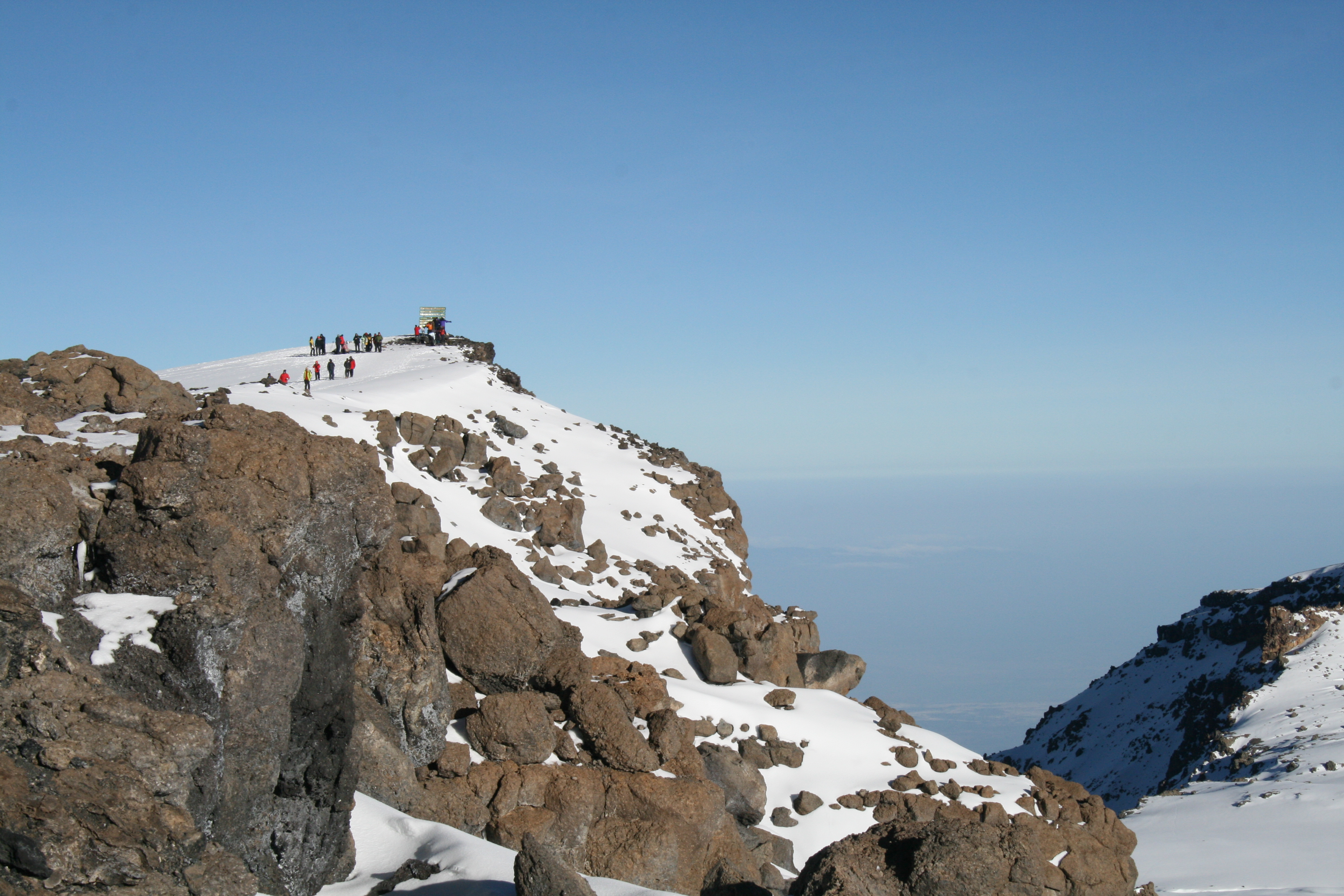 Kilimanjaro summit - one of the Volcanic Seven Summits
