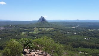 The Glass House Mountains, Queensland