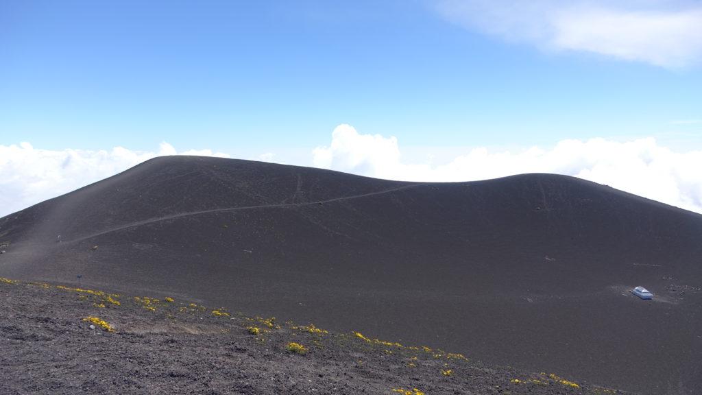 Acatenango crater