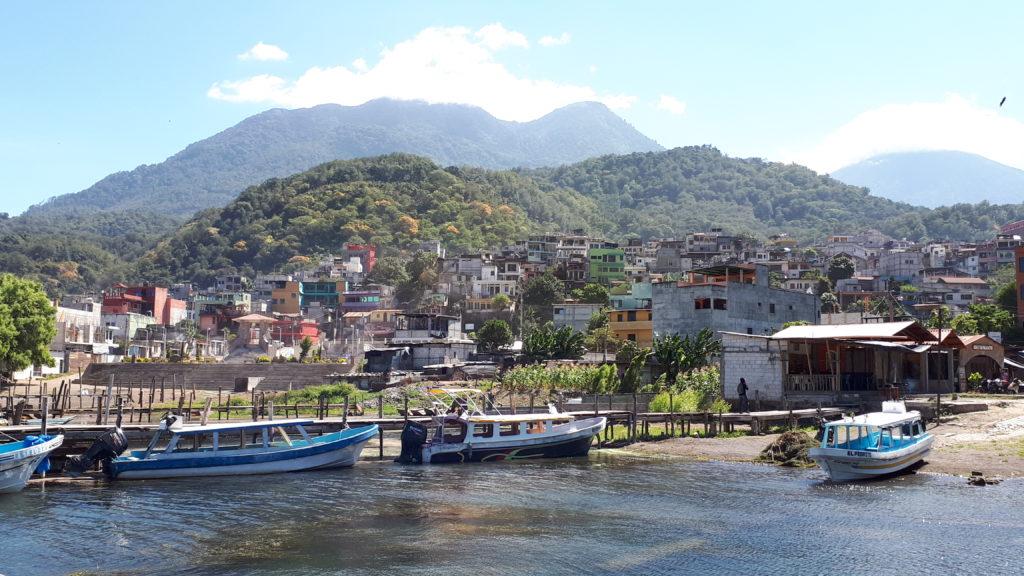 Approaching Santiago Atitlan