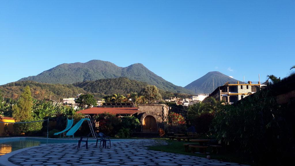 Volcán Toliman and Volcán Atitlan