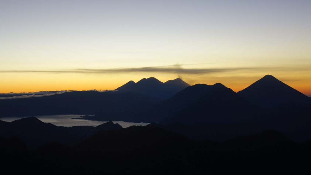 Sunrise on Pico Zunil