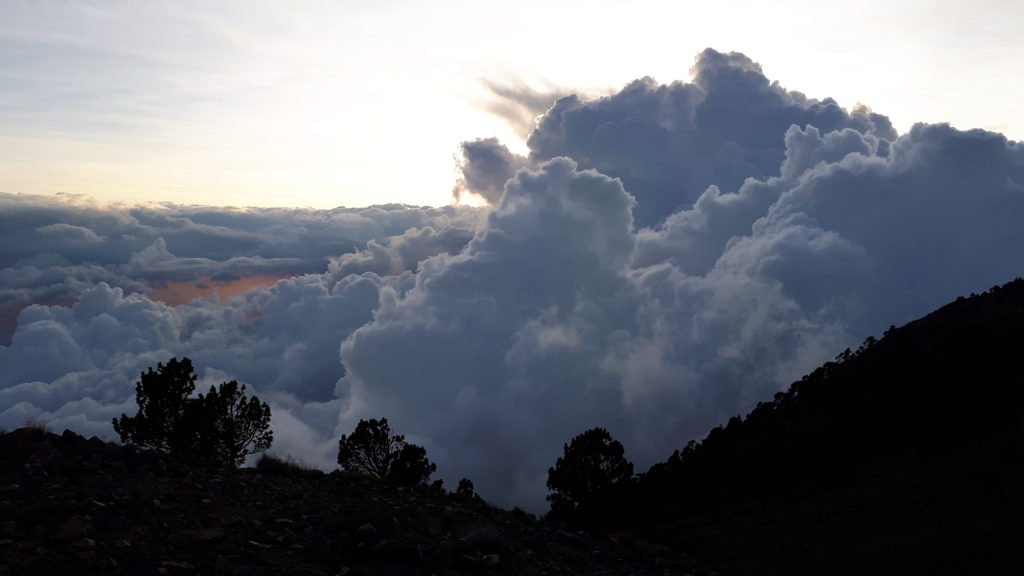 Clouds on Cerro Concepción