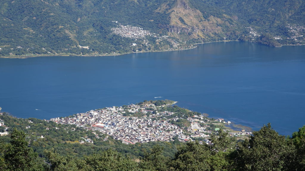 The town of San Pedro