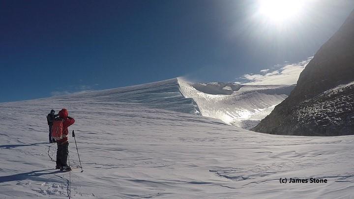 Windscoop on Charles Peak