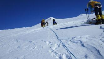 Ascending Mount Sidley