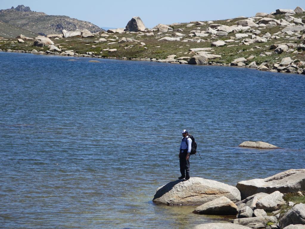 Lake Cootapatamba and Dan