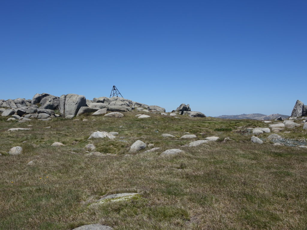 Mount Twynam summit