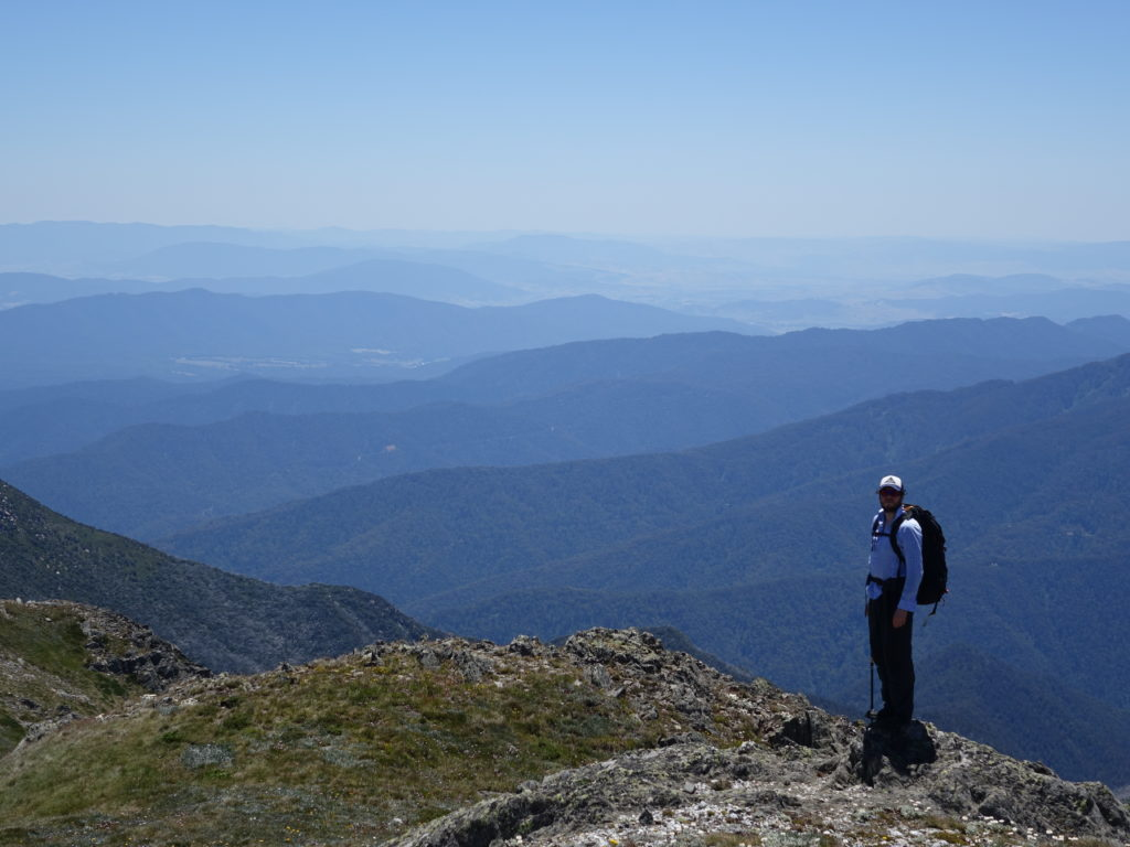 Dan on Carruthers peak