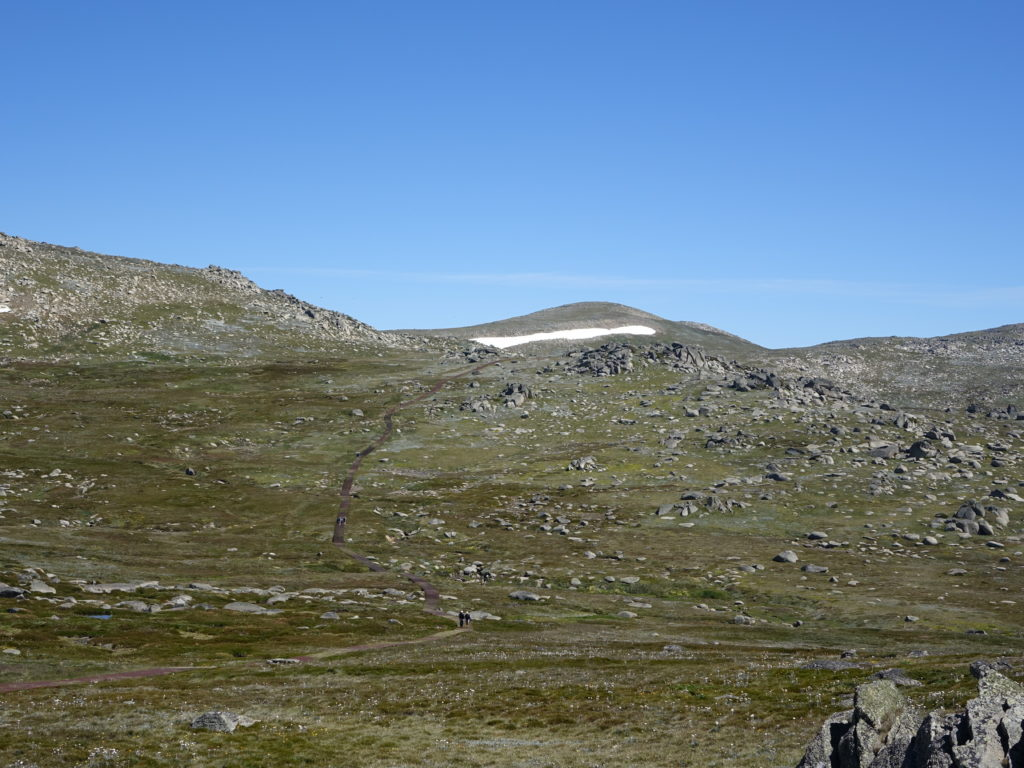 Kosciuszko - the highest of Australia's five highest summits