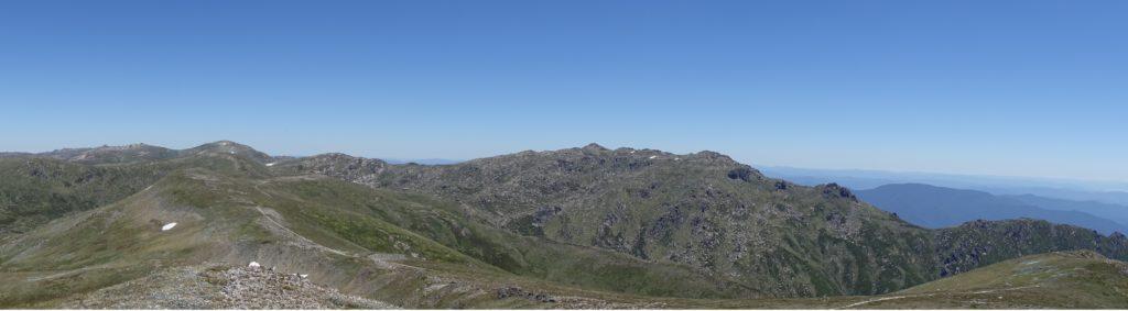 Snowy Mountain Panorama