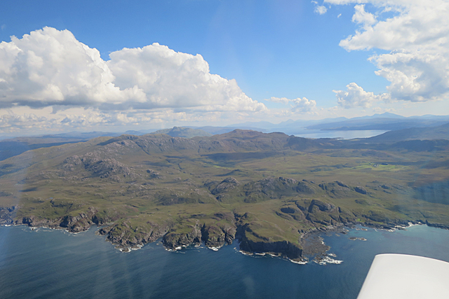 Ardnamurchan volcano - one of the British volcanic seven summits?