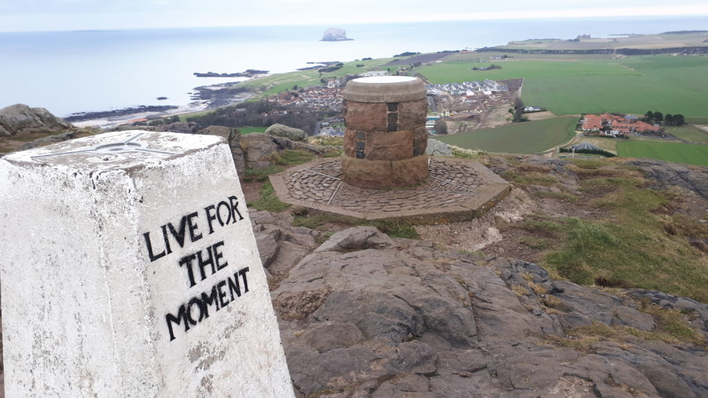 The summit of North Berwick Law