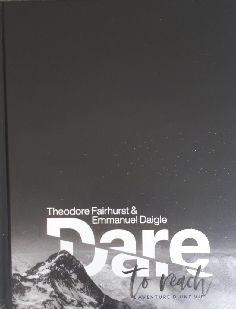 Dare to Reach L'Aventure d'une Vie - front cover