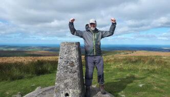 My 600th Marilyn - Foel Cwmcerwyn in south west Wales