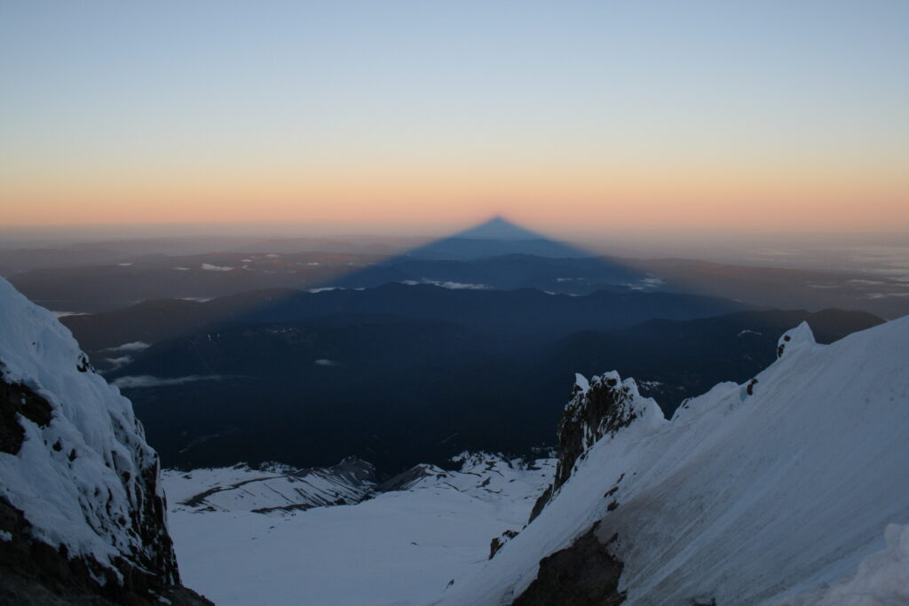 Sunrise on Mount Hood