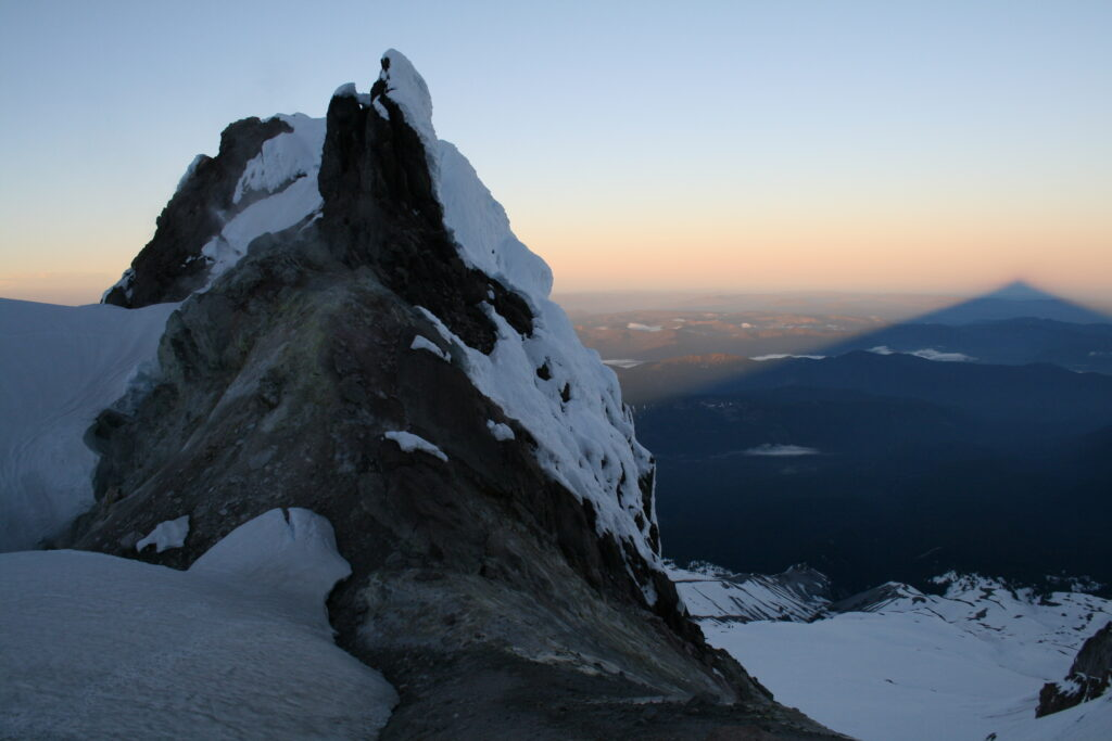 Crater Rock on Mount Hood