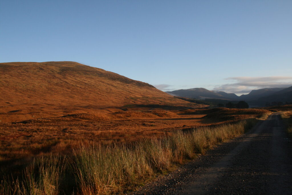 Beinn na Lap in the early morning sun