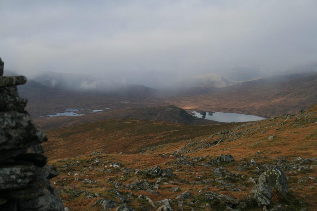 Loch Ossian from Carn Dearg