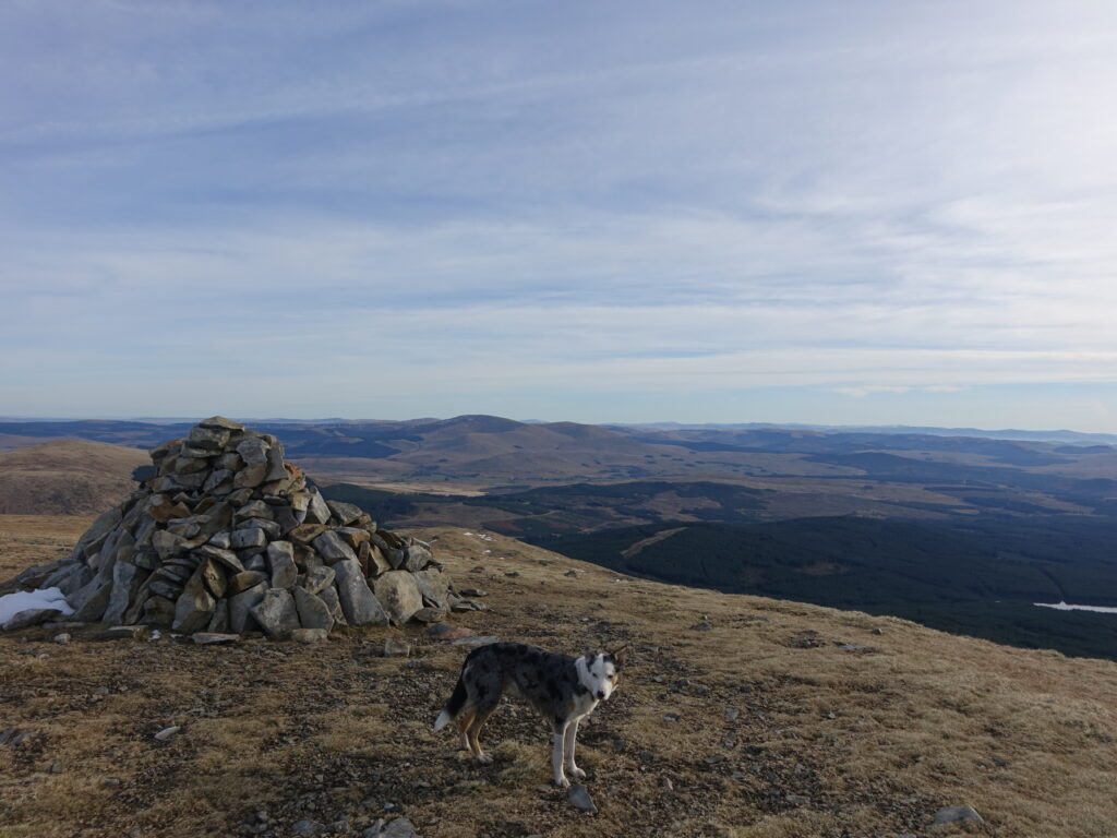 Hennessey's Cairn on Corserine