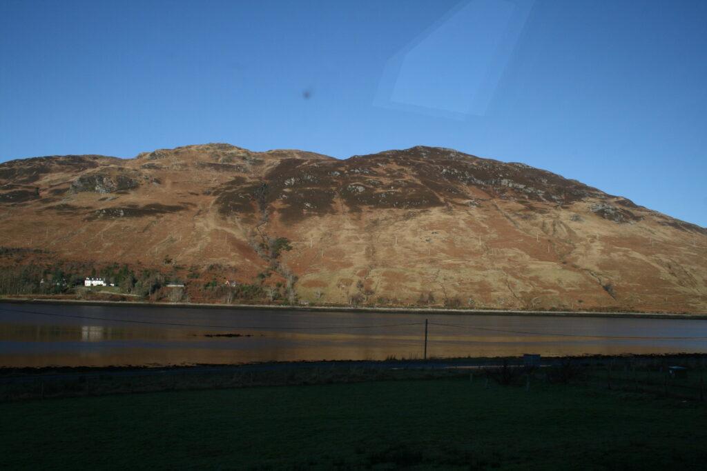 Beinn Conchra across Loch Long from Dornie