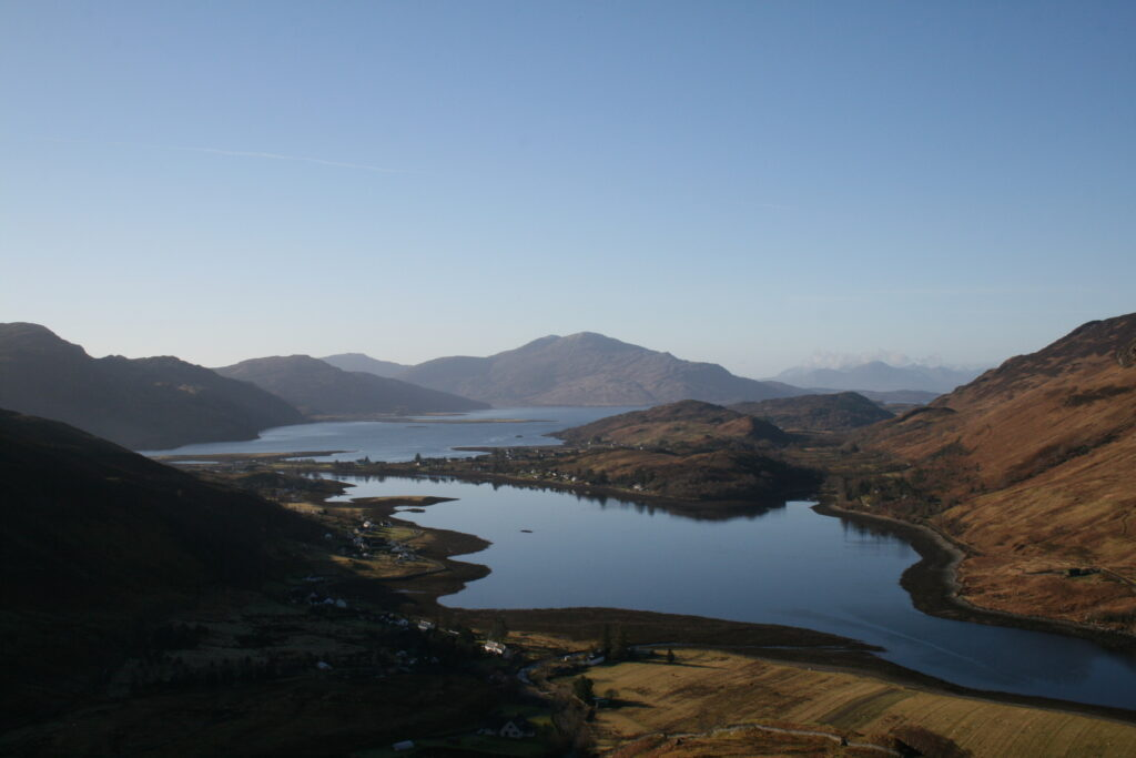 Loch Long, Loch Duich and Skye