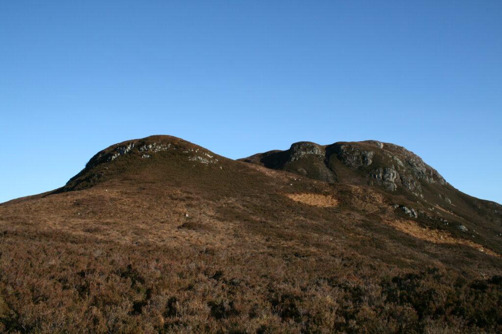 Cliffs on Beinn a'Mheadhoin