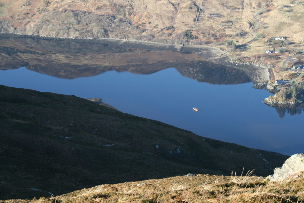Mirror like Loch Long and Allt-nan-sugh