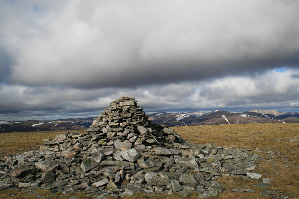 The Cairngorms from An Sgarsoch