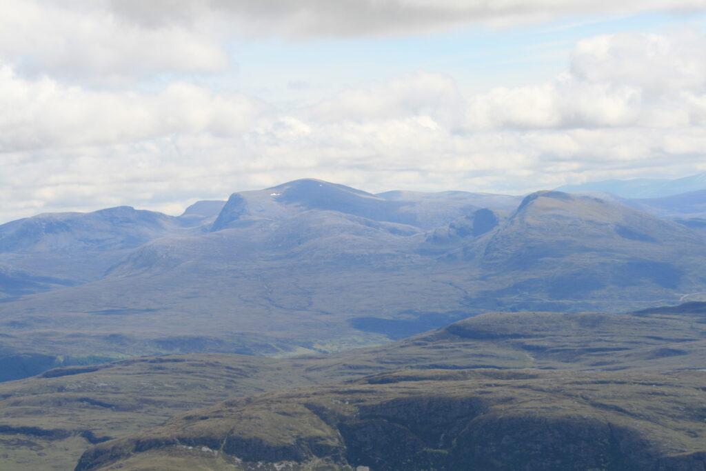 The Beinn Dearg group from the summit of  Bidein a'Ghlas Thuill, An Teallach