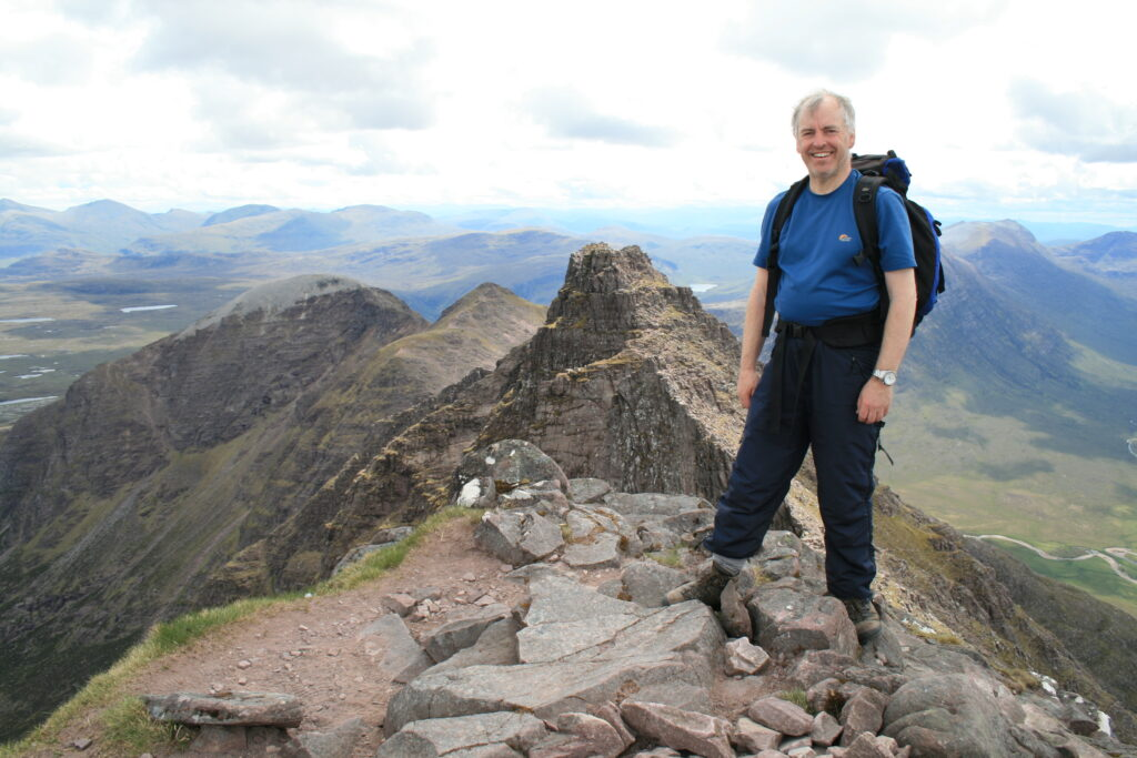 On Sgurr Fiona, the second An Teallach Munro of the day