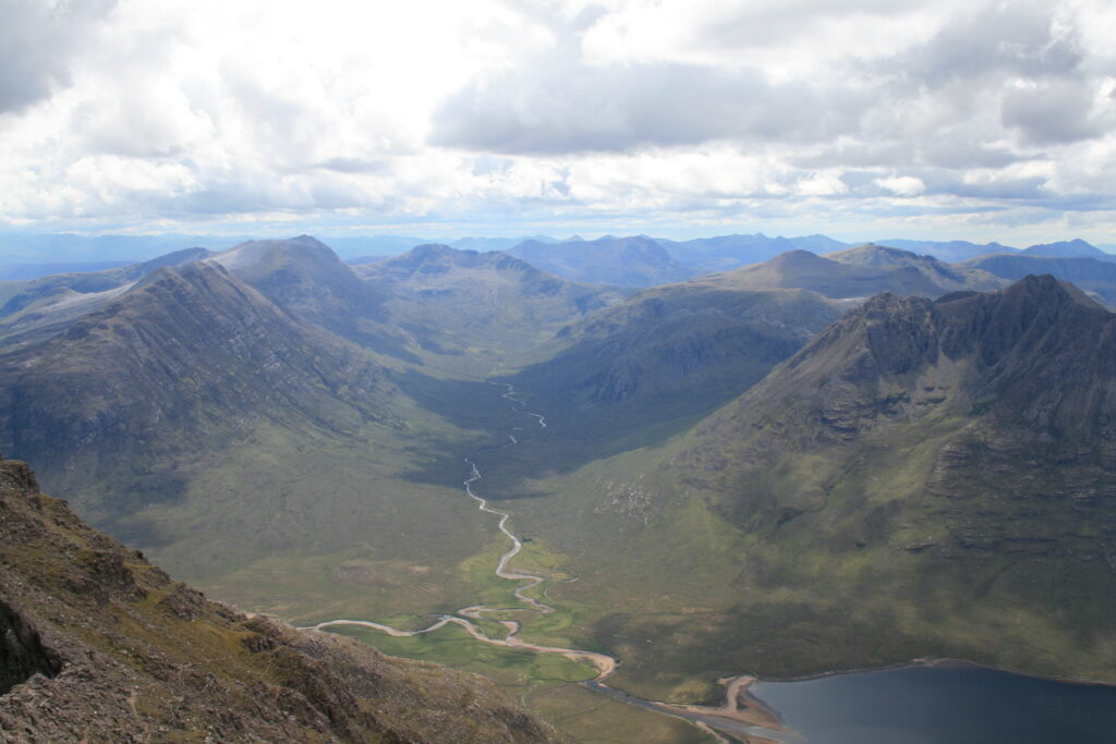 Looking south into Fisherfield
