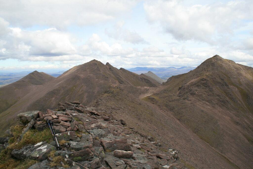 Bidein a'Ghlas Thuill and Sgurr Fiona  - the two An Teallach Munros
