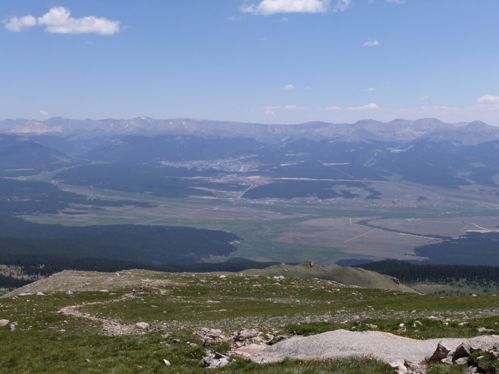 View east from Mount Massive