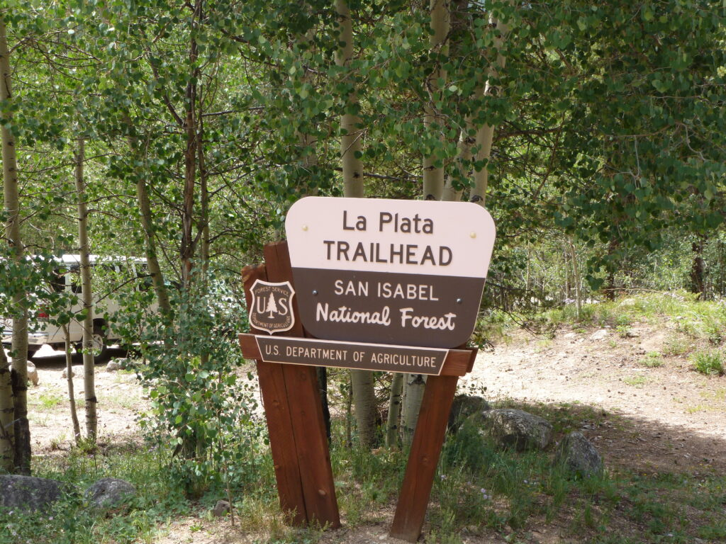La Plata Trailhead